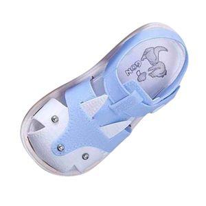 Kinder Kinder Schuhe Jungen Mädchen Closed Toe Summer Beach Sandalen Schuhe Turnschuhe Größe:26,Farbe:Blau
