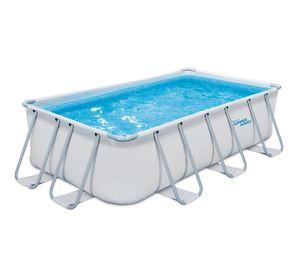 Summer Wave Pool 440x240x100 cm Elite weiß Aufstellpool Swimmingpool Außenpool Familienpool