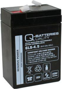 Ersatzakku AGM Batterie für Kinderfahrzeug Kindermotorrad 6V 4,5Ah