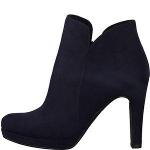 Tamaris 1-25316-24 Damen Schuhe Stiefeletten Plateau High-Heel, Größe:37 EU, Farbe:Blau