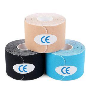 6x Fitness Kinesiologielogie Tape 6er Set Mixpackung Elastisches Klebeband 3 Farben