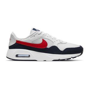 Nike Air Max SC Sneaker Herren CW4555-103 weiß/obsidian/rot 41
