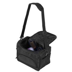 Friseurtasche Tragbare mhängetasche für Friseurwerkzeuge Friseur Bag Aufbewahrungskoffer für Friseurbedarf Werkzeugtasche Kosmetiktasche mit Schultergurt