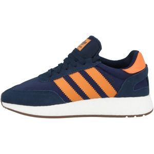 adidas Iniki Originals Sneaker I-5923 Navy Blau Orange, Größe:44