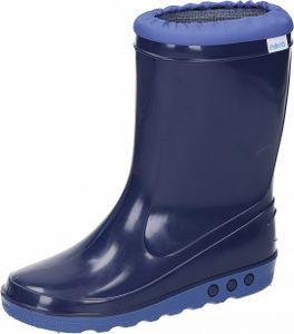 Nora Kinder Gummistiefel ungefüttert Schuhe blau