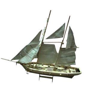 1:100 Maßstab Holz 3D DIY Boot Schiff Modell Bausatz