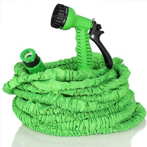 TRESKO® Flexibler Gartenschlauch Wasserschlauch flexibel dehnbarer Flexischlauch 30m