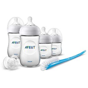 Philips Avent Newborn Natural Starter Set Transparent 125 ml