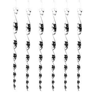 6er Set Windspirale Vogelabwehr Reflektierend Vogelschreck Spirale Taubenabwehr Windspiel Balkon Vogelschutz Taubenschreck