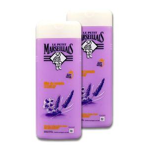 Le Petit Marseillais Duschcreme Lavendelhonig, 2 x 400 ml
