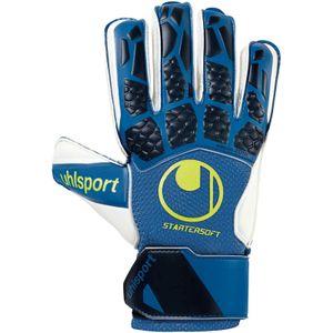 uhlsport Hyperact Starter Soft Torwart Handschuhe - dunkelblau 2