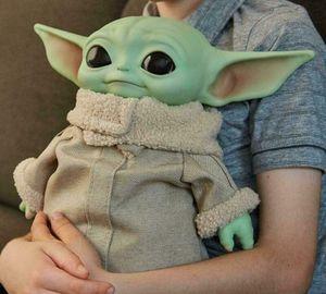 Baby Yoda Plüschtier Stofftier Krieg der Sterne Actionfiguren Spielzeuge Actionfigur Deko Geschenk für Kinder 30cm