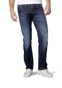 Mustang - Slim Fit - Herren 5-Pocket Jeans, Low rise, Oregon Straight (3115-5111), Größe:W31/L36, Farbe:Dark rinse used (593)