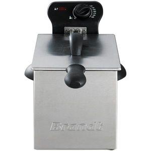 2000 W - 3 L-1 kg Pommes-Einstellbare TH-Kaltzone-Komplett herausnehmbar-Inox