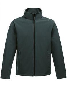 Herren Ablaze Printable Softshell Jacket - Farbe: Dark Spruce/Black - Größe: L