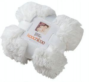 Bizzi Growin decke Koochicoo 100 x 100 cm Plüsch/Daune weiß