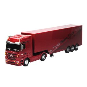 Siva Ferngesteuerter Truck Mercedes Benz Actros Truck rot 1:32 40 MHz; 50080