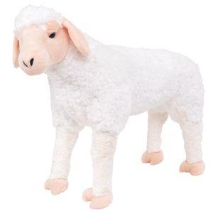 Plüschtier Stehend Schaf Weiß XXL