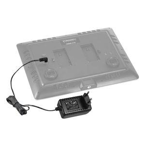 YONGNUO 12V 2A Standard-Netzteil mit EU-Stecker Weitspannung 100-240V fuer YONGNUO YN300III YN216 YN1410 YN300Air YN160III YN168 YN360 LED-Videoleuchte