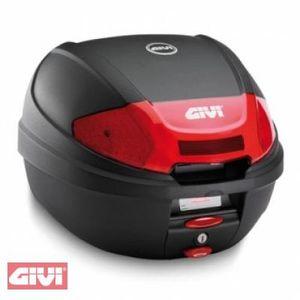 Givi E300 Tour Universal Topcase + Adapterplatte Monolock schwarz matt 30L