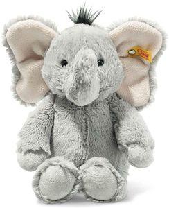 Steiff 064982 Soft Cuddly Friends Ella Elefant | 30 cm grau sitzend