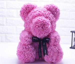 Der Rosenbär für Geburtstags Abschluss Hochzeit Valentinstag Geschenk Blumen Bär Rosa