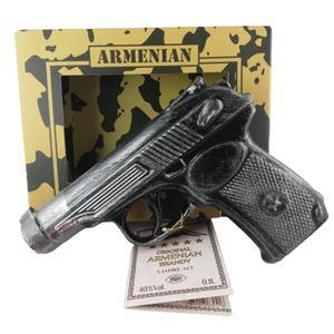 Armenischer Brandy Pistole Geschenkset 0,1L 5 Jahre Reifezeit Ararat Tal