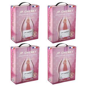 Bag-in-Box - IGP Oc Grenache-Cinsault - Rose JP. Chenet 3 L., Auswahl:4 Boxen