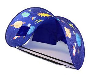 BEST DIRECT SleepFun Tent Betthimmel Kinderzelt Pop Up Zelt Bett Party Planet Schlafzelt Original aus der TV Werbung