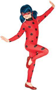 Rubies Kinder Kostüm * Miraculous Ladybug * Größe:S * 3-4 Jahre