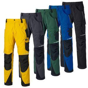 Dickies PRO Arbeitshose mit Cordura®, Farbe:grau/schwarz, Größe:46