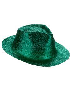 Glitzer-Hut Party-Hut grün