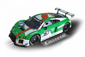 Carrera digital 132 Audi R8 LMS 132 grünes Rennstreckenfahrzeug