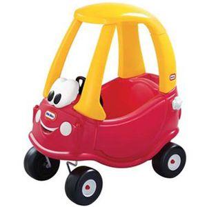 Little Tikes Cozy Coupe Laufwagen Kinderauto Kinderfahrzeug Laufwagen ab 18 Monaten, Ausführung:Rot-Gelb