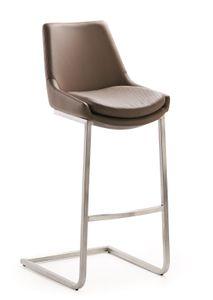 Mayer MYCCOMFORT-LINE Tresenhocker ohne Tisch - Farbe: braun - Material: Edelstahl, Maße: 47 cmx108 cmx39 cm; 1112 565