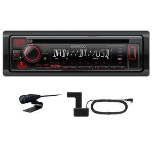 KENWOOD KDC-BT450DAB USB Autoradio Bluetooth Digitalradio MP3 inkl DAB Antenne