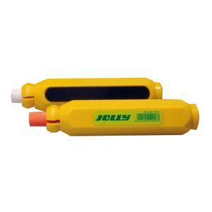 Jolly 8301-0001 Color Kreidehalter magnetisch, gelb (6er Pack)