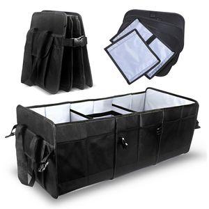 MCombo Kofferraumtasche Aufbewahrungsbox Faltbare Multifunktionsbox Oxfordstoff