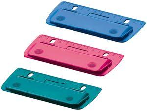 Herlitz Taschenlocher Color-Blocking Stanzleistung: 2 Blatt zufällige Farbe 1Stk