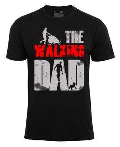 "Cotton Prime® Fun-Shirt ""THE WALKING DAD"" L schwarz"