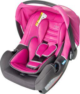 Osann Babyautositz - BeOne SP Rose - Geburt bis 13 kg (von Geburt bis ca. 15 Monate) - Befestigungsart 3-Punkt-Gurt - pink