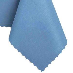 Tischdecke Abwaschbares Tischtuch Schmutzabweisend Wasserabweisend 130x170 Blau