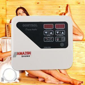 Saunasteuerung Sauna External Controller Steuergerät Saunaofen Intelligent 3-9KW 220V-245V