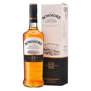 Bowmore 12 Jahre Islay Single Malt Scotch Whisky in Geschenkpackung | 40 % vol | 0,7 l