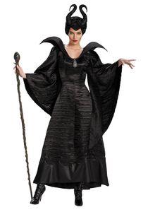 Damen Kostüm Maleficent schwarz, Größe:S