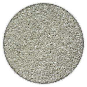 Einfarbiger Teppich Trendy für Zimmer, Wohnzimmer, Schlafzimmer, Teppichboden Auslegware, Verschiedene Größen weiß Kreis 150 cm