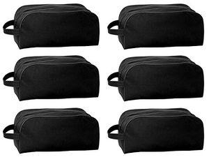 6x Schuhtasche mit Reißverschluss Schuhbeutel Freizeittasche Sporttasche Schuhe