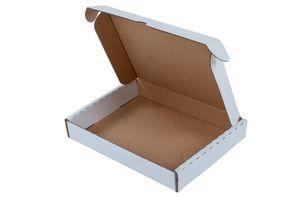 Maxibriefkarton braun 350x250x10cm Faltkarton Versandkarton Versandschachtel Paket