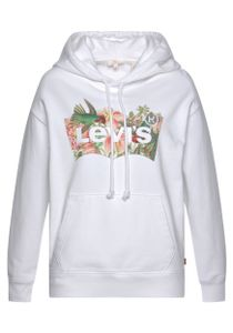 Levis Graphic Standard Damen Hoodie, Farbe:Weiß, Größe:XXS