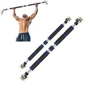 NEUFU Klimmzugstange Pull Up Klimmzug Stange Türreck Fitness Türstange Hause Gym Stahl Länge: 60-100cm